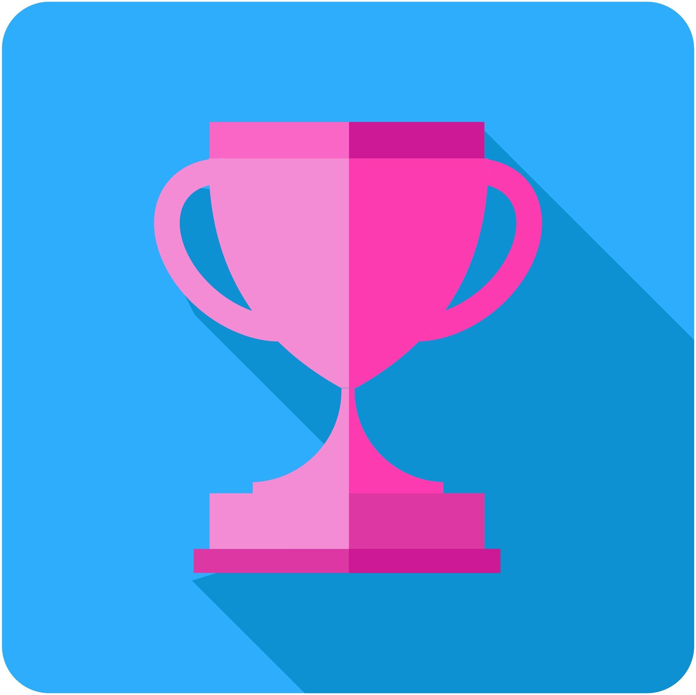 A sports trophy
