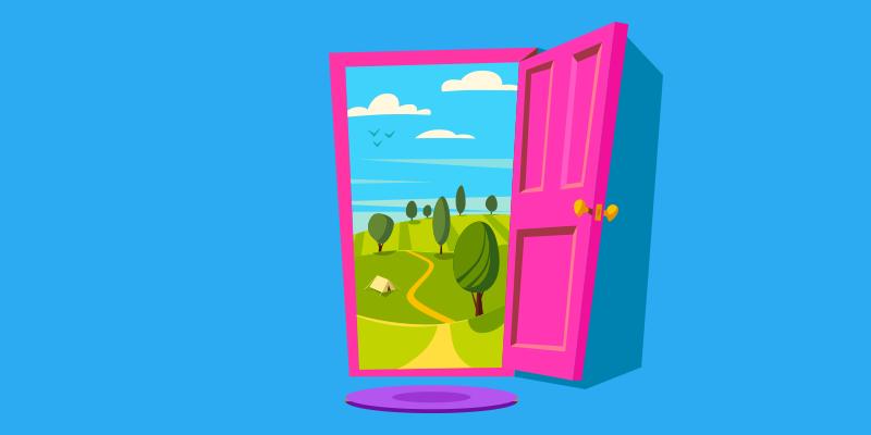 Door to a content marketing adventure