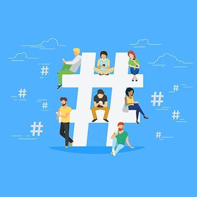 Growing social media tip-hashtag-game