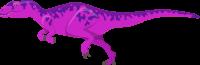 Pink Roketto Dinosaur