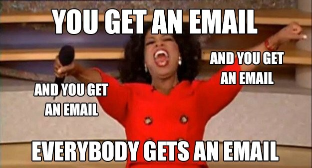 Email marketing to your buyer personas